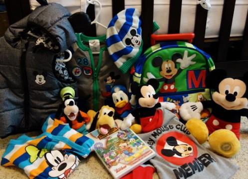 Mickey party presents - kf
