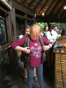Fuhrmann-Simmons Family Suit Up Disney Wild Africa Trek Disneyworld