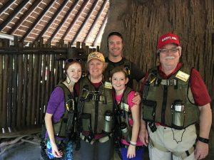 Kristin Fuhrmann Simmons Family Suit Up Disney Wild Africa Trek Disneyworld