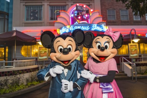 mickey and minnie - disney