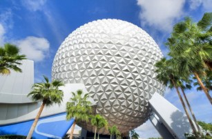 spaceship earth - disney