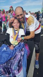 Dan _ Courteney Post-Half with Medals, D Boyle