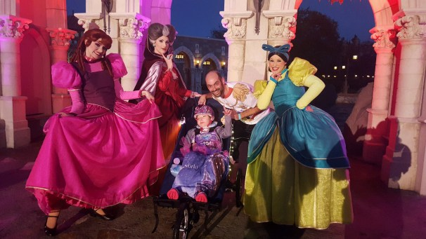 Dan _ Courteney with Lady Tremaine _ the Wicked Step-Sisters, D Boyle