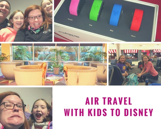 Air Travel with Kids to Disney Kristin Fuhrmann Simmons WDW Radio Blog