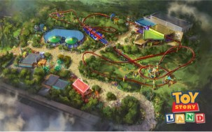 Toy Story Land at Disney's Hollywood Studios in Florida