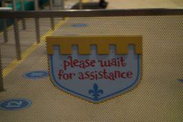 IASW wait sign