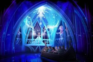 Frozen Ever After concept art - coypright Disney