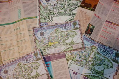 Disney Collections, Polynesian Resort Collection, maps-kf