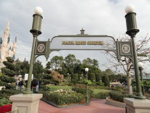 Plaza Rose Garden Magic Kingdom
