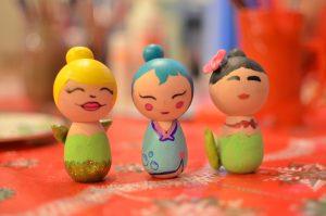 Disney Epcot Arts Festival Craft Inspiration Kokeshi Dolls Photo By Kristin Fuhrmann Simmons