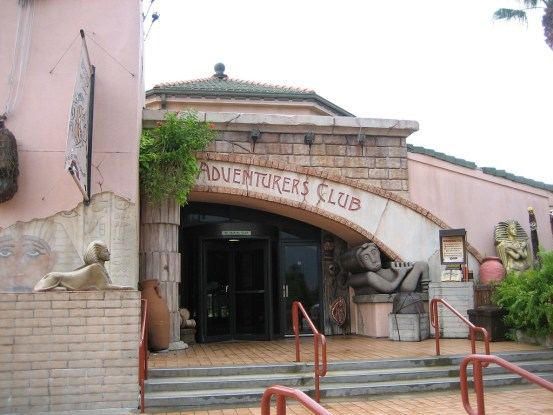Adventurers Club exterior