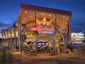 Splitsville Luxury Lanes, copyright Disney