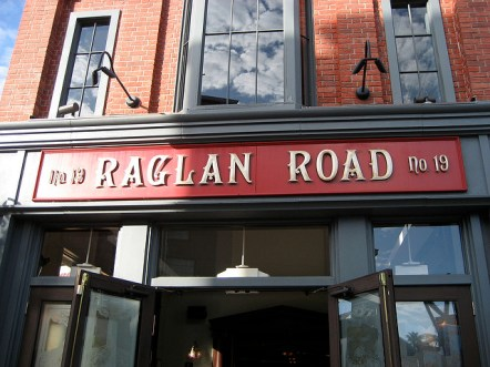 Raglan Road exterior - photo from the Flickr Creative Commons