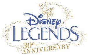 Disney Legends 30th Anniversary Logo