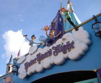 Peter Pans Flight - Attractions you return to over and over again