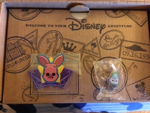 pin and patch in the Disney Treasures by Funko subscription box