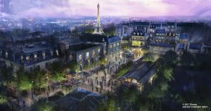 Ratatouille Concept Art for Epcot - copyright Disney