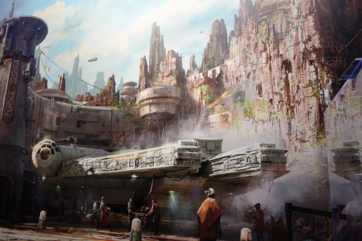 Star Wars: Galaxy's Edge copyright Disney