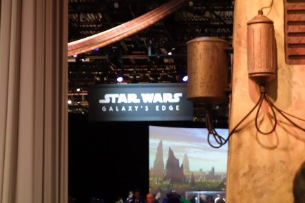 Star Wars: Galaxy's Edge pavilion D23 Expo