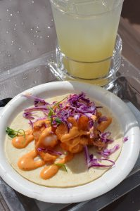 Shrimp Tacos Epcot International Food and Wine Festival Kristin Fuhrmann Simmons WDW Radio
