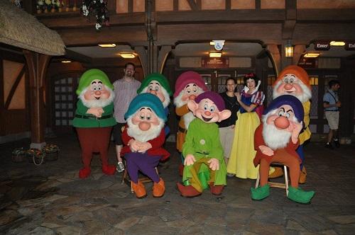 7 Dwarfs Disney Character Meet and Greet