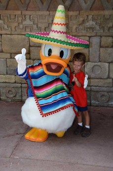 Pato Donald Disney Character Meet and Greet