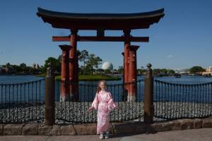 Visiting the Japan pavilion in Epcot's World Showcase