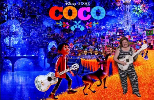 Disney Pixar CoCo Photo Op