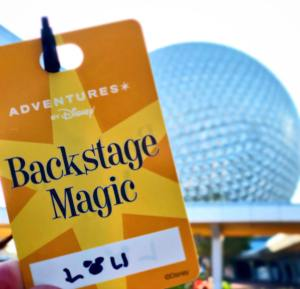Backstage Magic tour pass