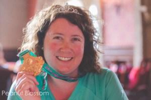 Tiffany Dahle Princess Marathon Medal