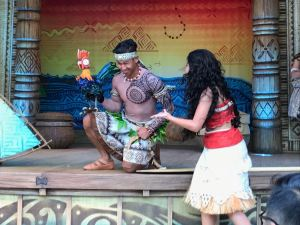Moana: A Homecoming Celebration Hei Hei prop