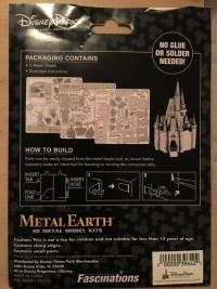 Disney Parks Metal Earth model packaging