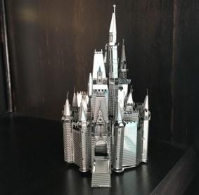 Cinderella Castle Metal Earth model