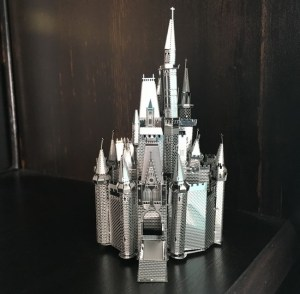 Finished Cinderella Castle Metal Earth model