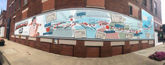 Waldmire Mural - Pontiac, IL