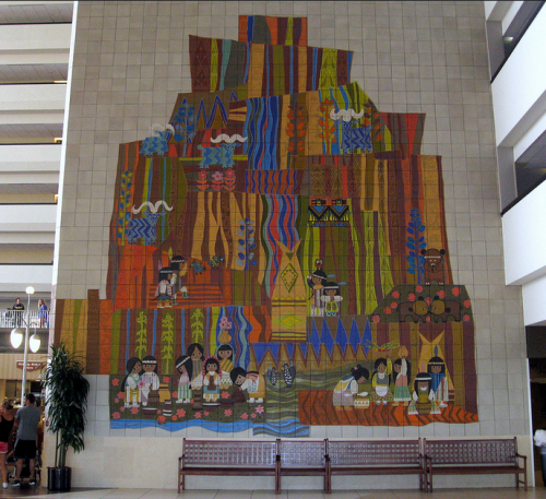 Mary Blair's Contemporary Resort Mural, Photo by Jared, Flickr Creative Commons License