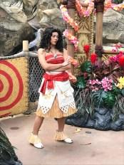 Moana in Hong Kong Disneyland