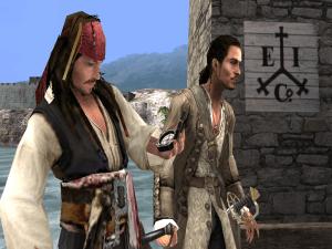 Pirates of the Caribbean: At World's End screenshot copyright Disney