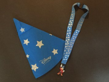 Hat and lanyard for Disney Store Opening