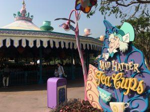 Mad Hatter Tea Cups Hong Kong Disneyland