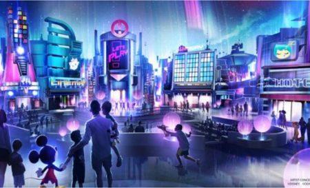 """Epcot Changes """"play pavilion"""" concept art - copyright Disney"""