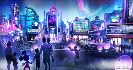 Unnamed Play Pavilion at Epcot, concept art, copyright Disney