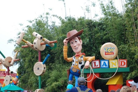 Toy Story Land entrance in Disney's Hollywood Studios