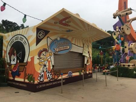 Jessie's Snack Roundup in Hong Kong Disneyland