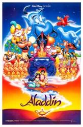 Aladdin film poster, copyright Disney