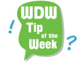 "alt+""WDW Tip of the Week logo."""
