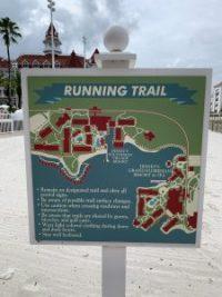 """alt=""""Grand Floridian Resort running trail map."""""""