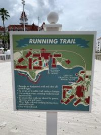"alt=""Grand Floridian Resort running trail map."""