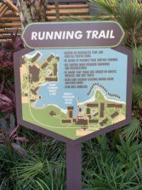 """alt=""""Polynesian Village Resort running trail map."""""""