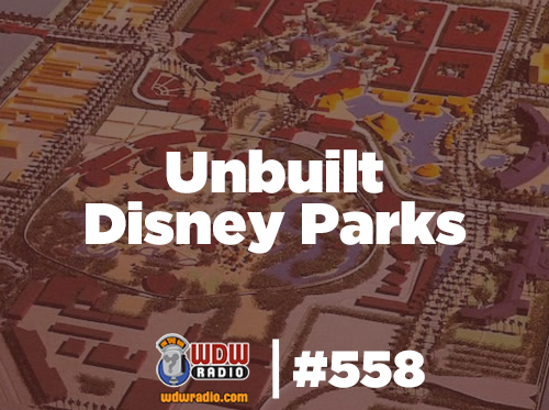 Unbuilt Disney Parks